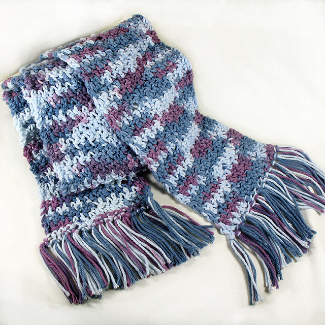 Knitting Scarves Free Patterns : Knitting Patterns Free: scarf patterns