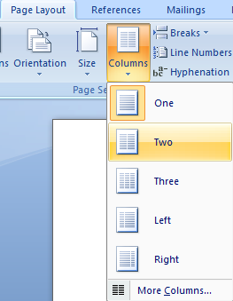Ms Page Layout Cara Membuat Kartu Ucapan dengan MS Word dengan mudah