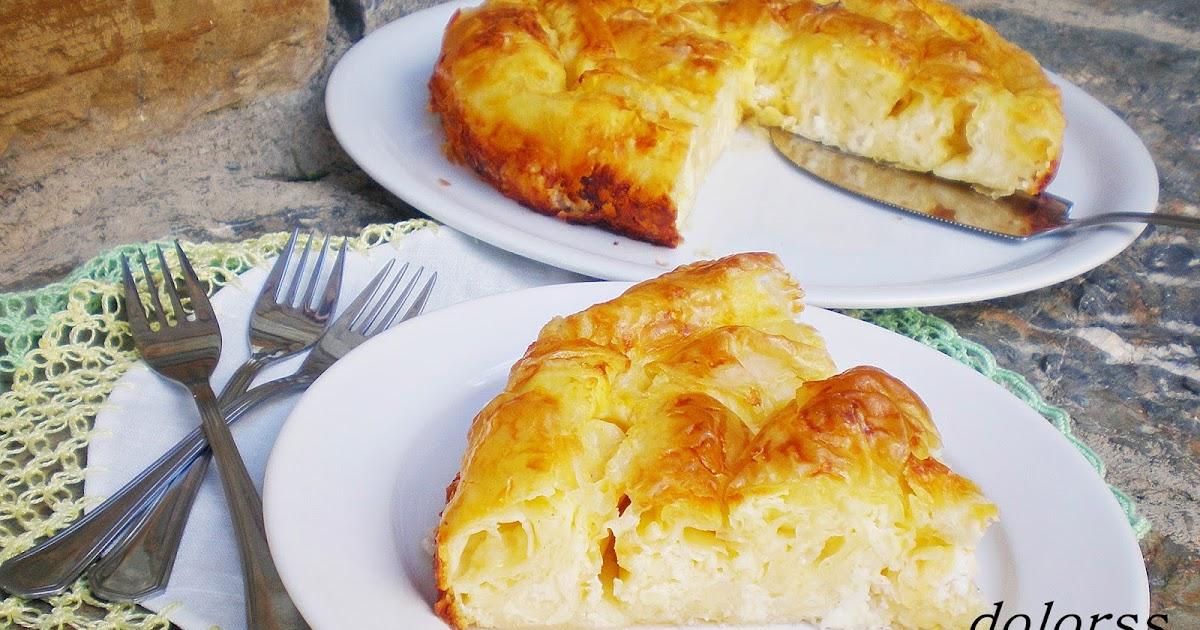 Blog de cuina de la dolorss: Banitsa, pastel de queso de Bulgaria