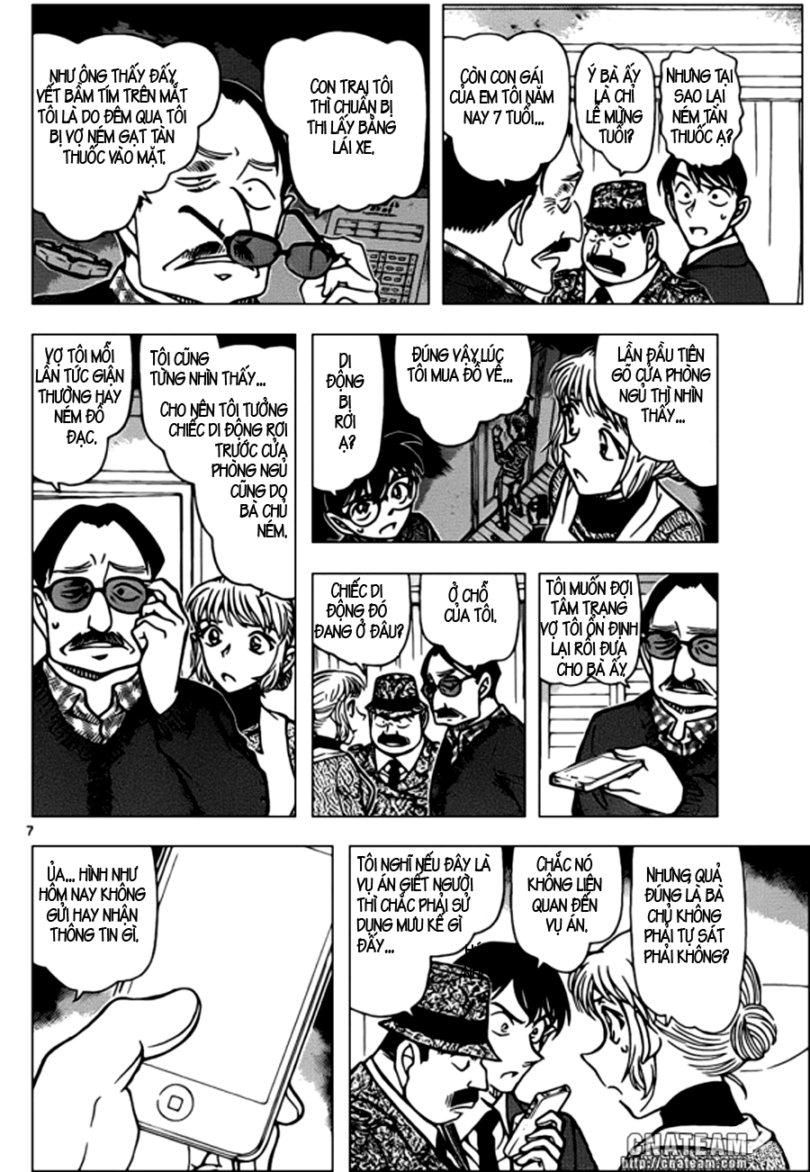 Detective Conan - Thám Tử Lừng Danh Conan chap 848 page 8 - IZTruyenTranh.com