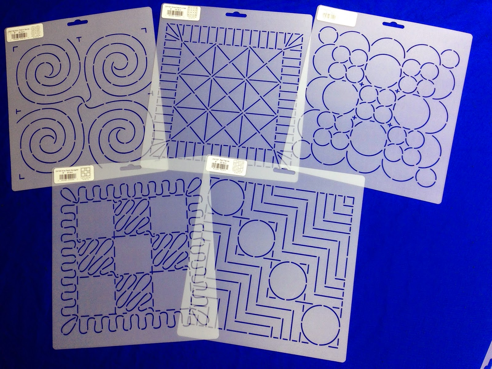 Free Motion Quilting Patterns For Blocks : The Free Motion Quilting Project: Building Block Stencils!