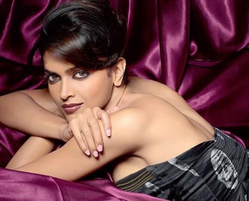 Deepika Padukone backless big side view boobs cleavage pics exposed