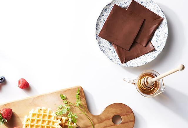 chocolate en lonchas, tranchetes de chocolate, inventos japonenses, cosas de japon, lo que no invente los japonenes, quesitos de chocolate