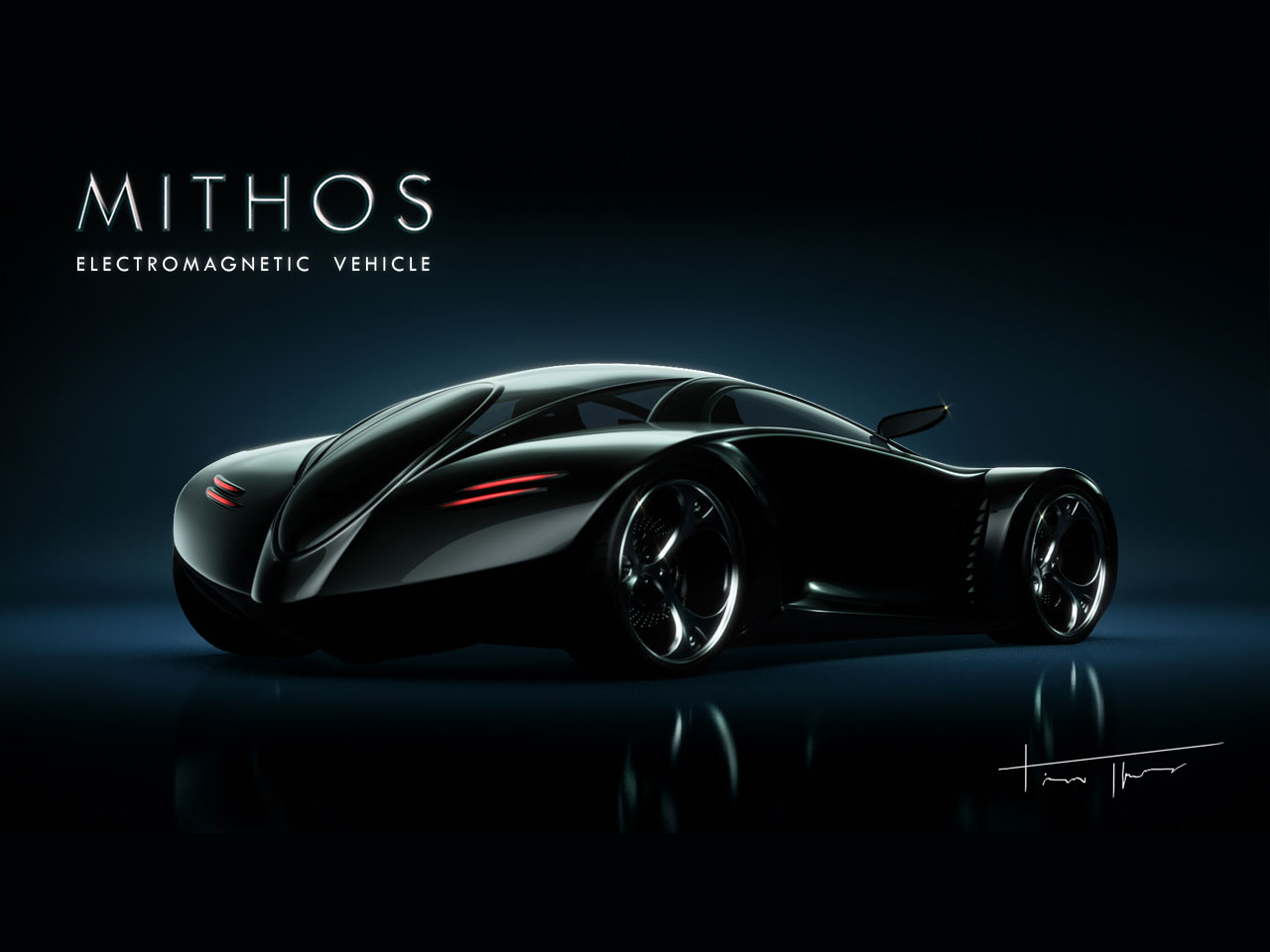 mithos electromagnetic concept vehicle future sports car divine glitz. Black Bedroom Furniture Sets. Home Design Ideas