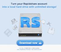 RapidDrive: Penyimpanan Lokal untuk Akun Rafidshare