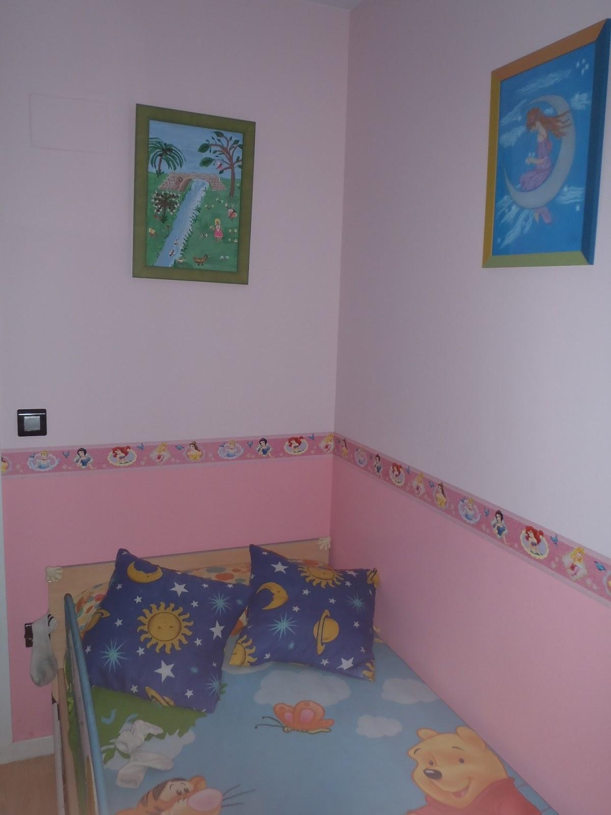 Pinturas ngel zaragoza habitaciones estilo infantil o - Pintura habitaciones infantiles ...