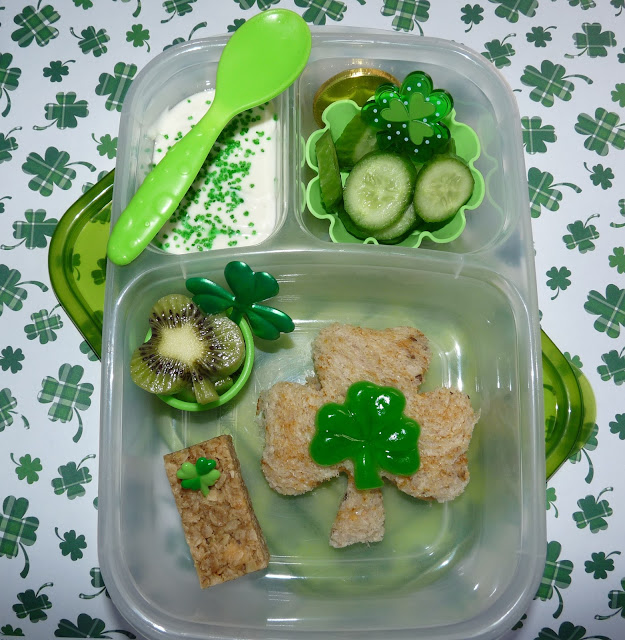 patrick's day easylunchboxes bento