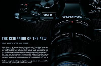 Fotografia della Olympus OM-D EM-5