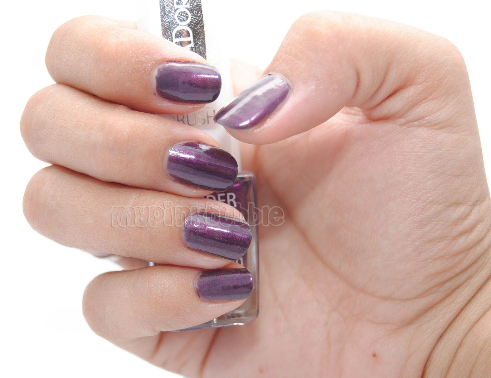 Isadora Isadora 789 purple prune swatch