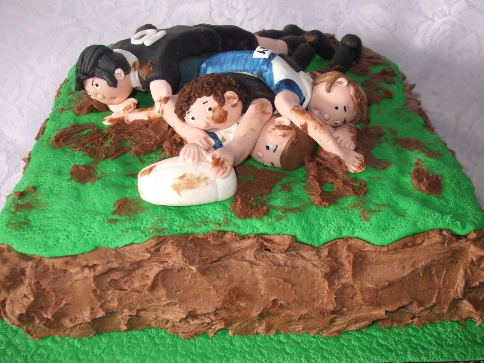 Fun Decorating: Brad's Rugby Cake