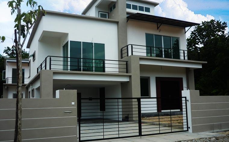 Penang property devil s double storey bungalow balik for Double storey bungalow house design