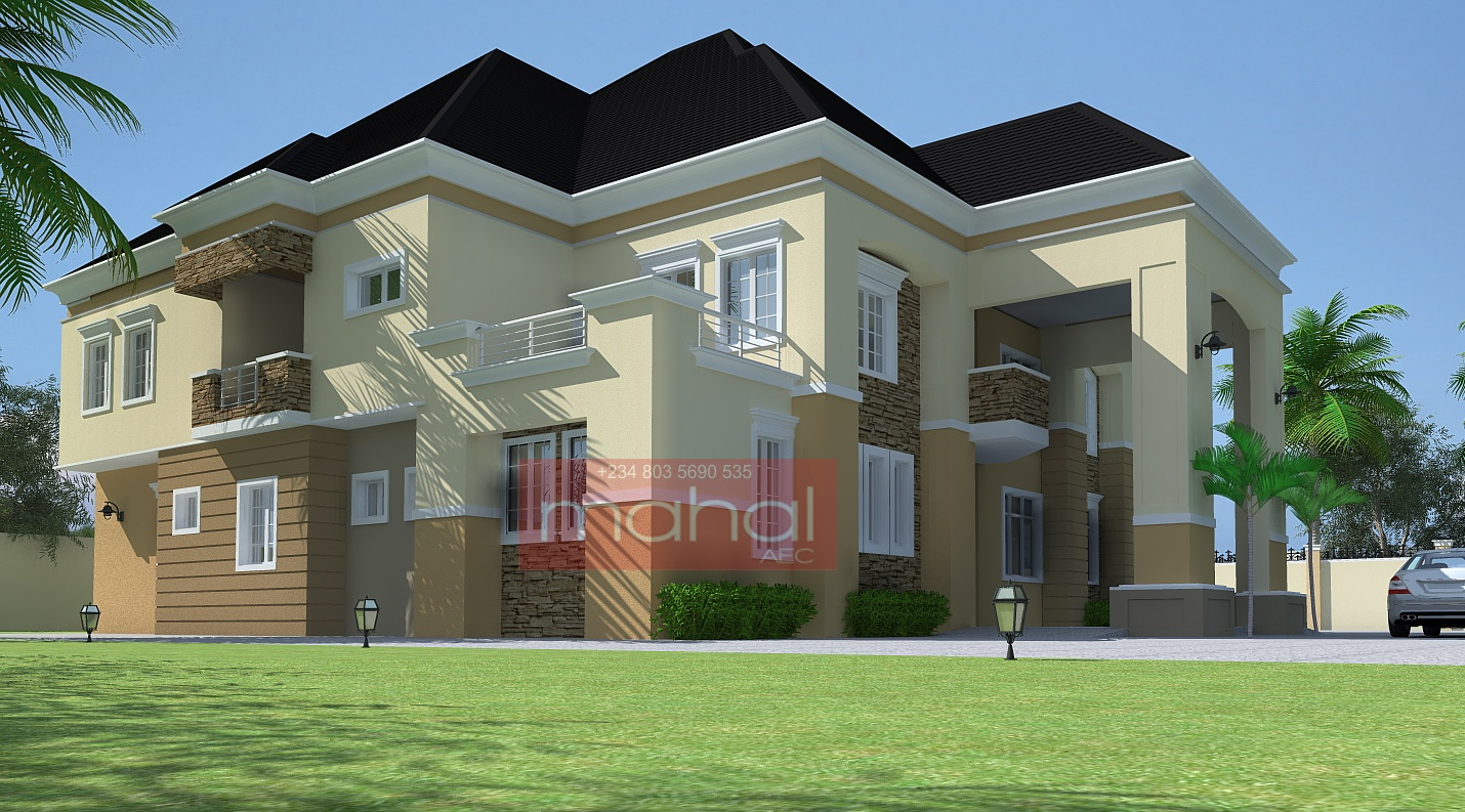 Pin nigerian residential architecture luxury 3 bedroom for Nigerian architectural designs