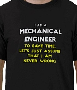 funny t-shirt quotes mechanical engineer