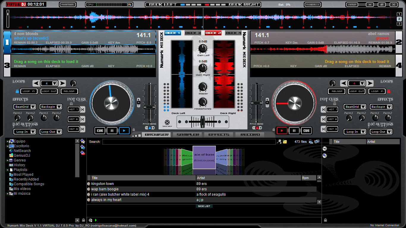 Virtual dj pro full v7 4 crack frndze