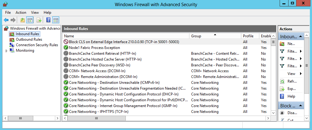 firewall security of windows server 2008 2008 server comes with a phenomenal built in firewall called the windows firewall with advanced security of the most significant changes on windows server 2008.