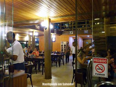 Rancho do Cupim: Ambiente interno