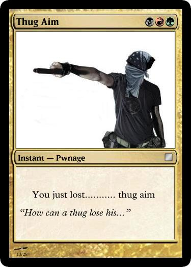 Custom Magic the Gathering Cards (how to)