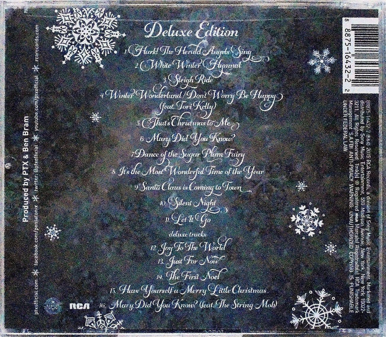 Música de Navidad: PENTATONIX -That's Christmas To Me (Deluxe Edition)