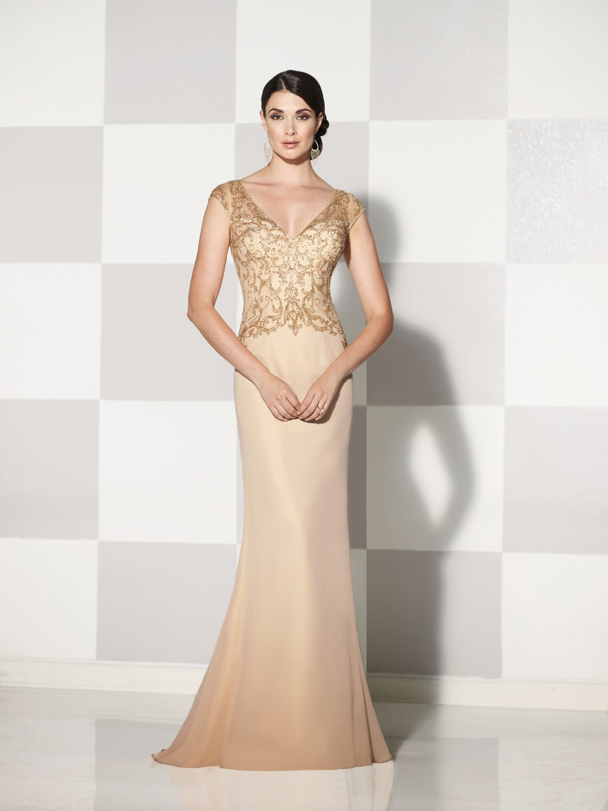 Mother of the Bride by Cameron Blake Spring 2015 - gold 2