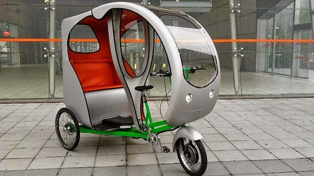 C-Evolo Z1, Tricycle électrique, Transport écologique