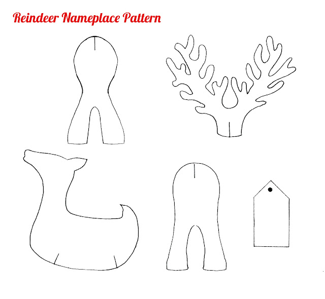 Gallery images and information printable reindeer head pattern