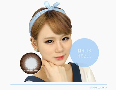 Malib Hazel Contact Lenses at ohmylens.com