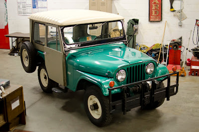 Time Capsule CJ5 Jeep Universal