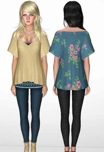 My Sims 3 Blog 3 Piece Fall Outfit By Nygirl