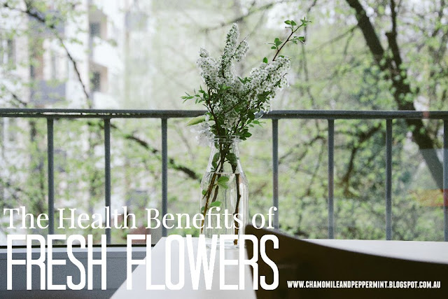 Does having fresh flowers and plants in home your home reduce stress levels and promote wellbeing?