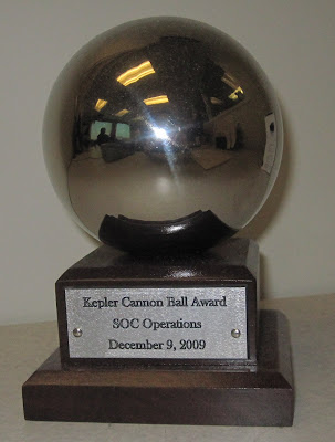 Kepler Cannonball Awards