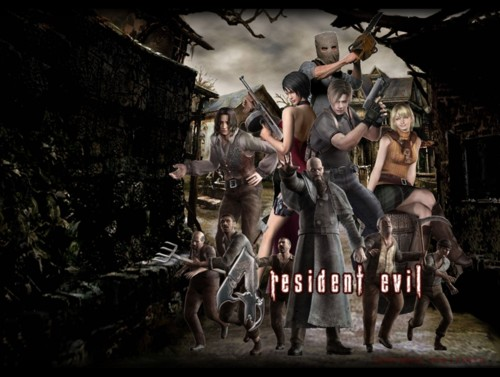 Resident Evil 4 completed save file
