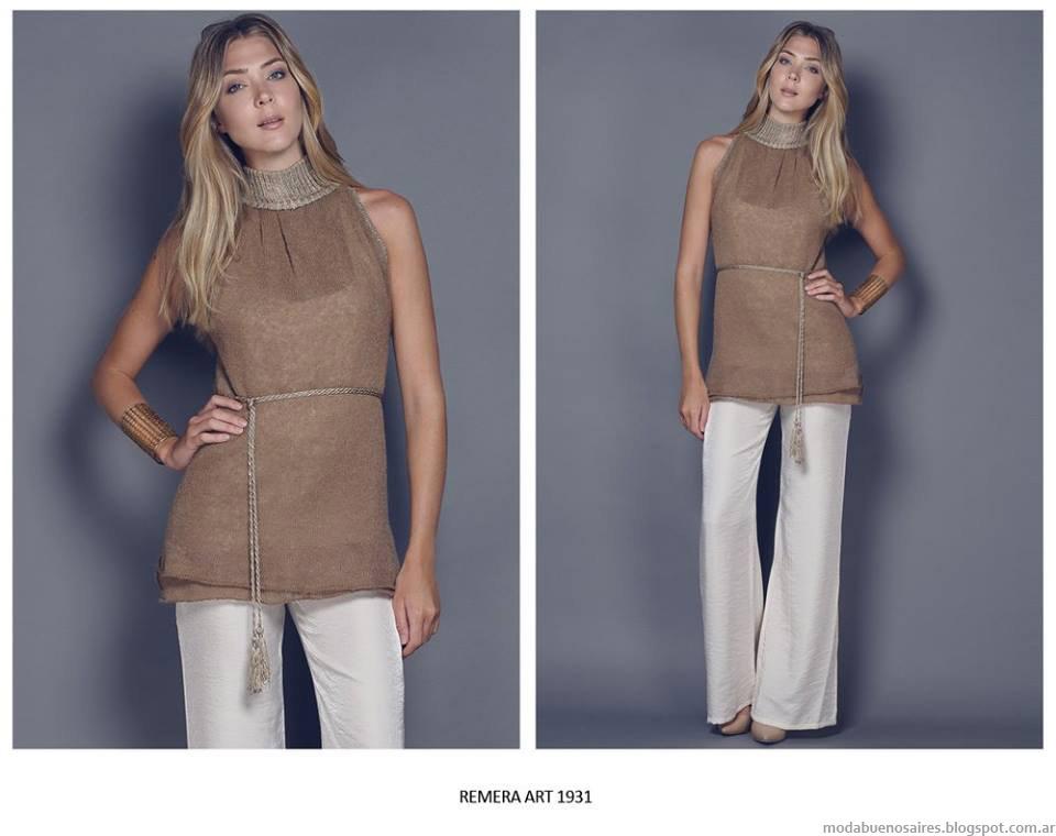 Moda tejidos invierno 2015 ropa de mujer.