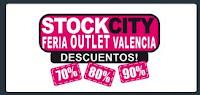 stock city.feria outlet.feria de muestras valencia.fecha y horarios