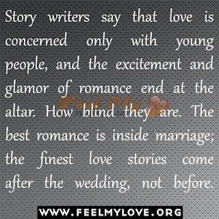Story writers say that love is concerned