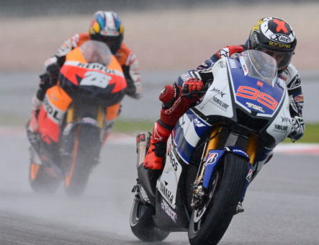 Hujan Guyur MotoGP Malaysia,Gap Semakin Dekat