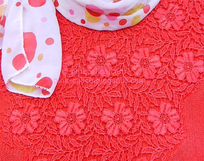 Pink Calico: Red Lace