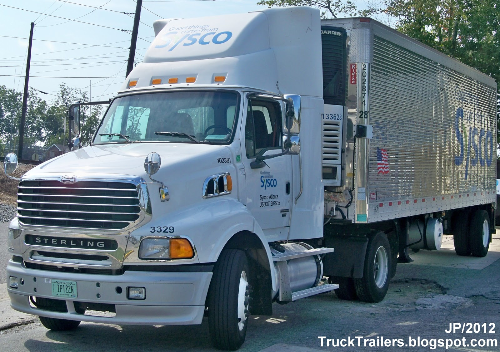 Sysco Food Delivery Truck TRUCK TRAILER Transpor...