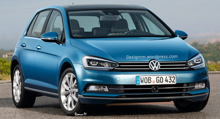 facelifted vw golf to get new petrol and diesel engines. Black Bedroom Furniture Sets. Home Design Ideas