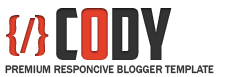 Cody Blogger Template