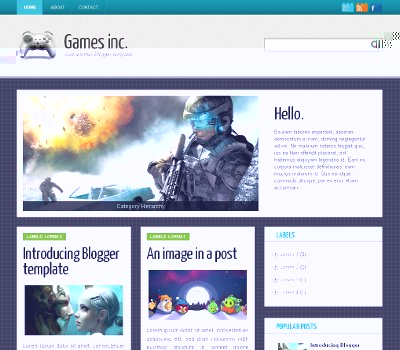 Template Blogger Games Inc