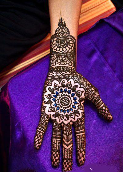 Gol Tikka Mehndi Designs 2013  Mehndi Designs Henna