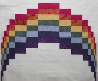 ProsperityStuff Bargello Rainbow Quilt