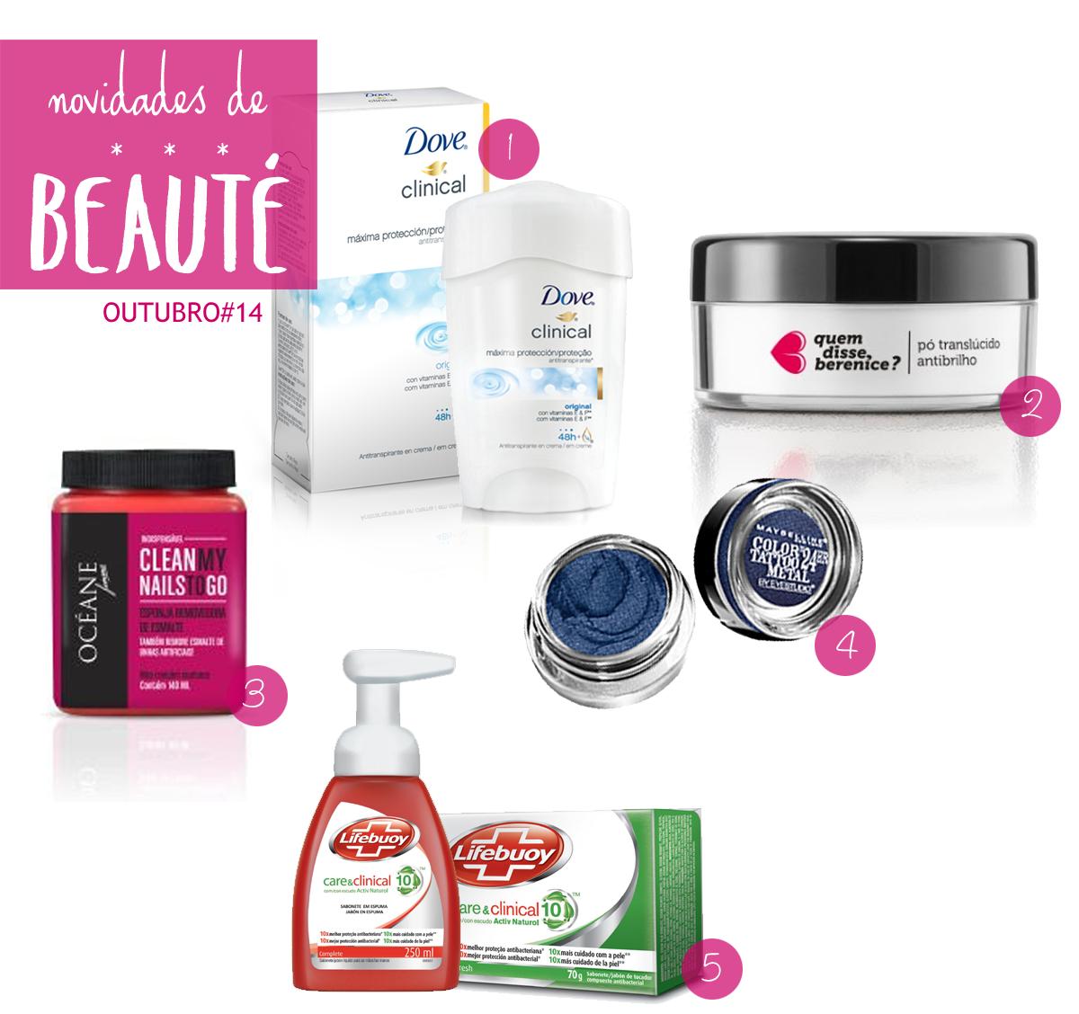 Novidade de Beauté - Outubro de 2014 | Blog No Balaio da Gata