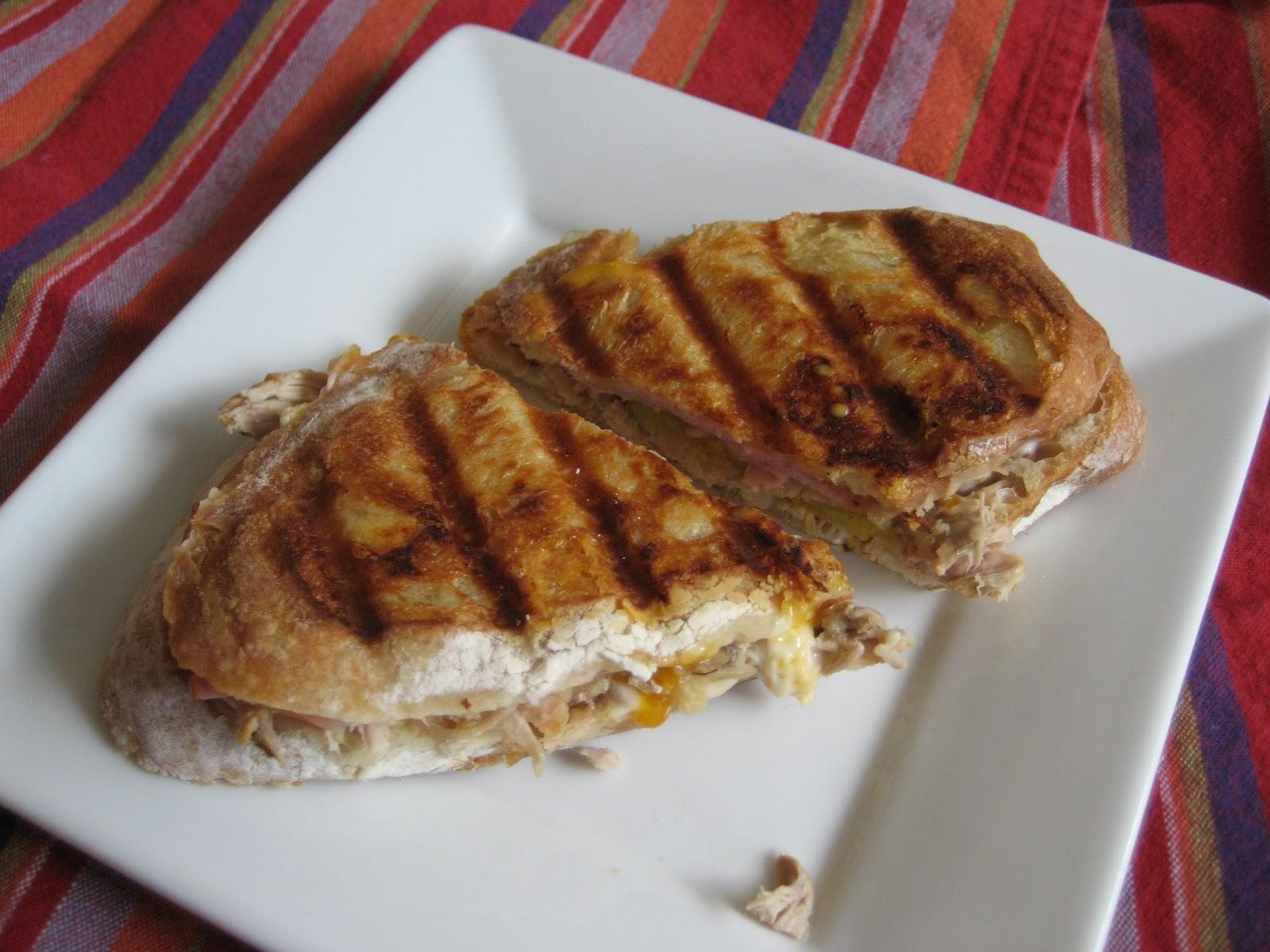 Cuban Panini - Rachel Cooks