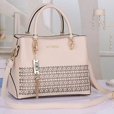 BALENCIAGA DESIGNER BAG - CREAM