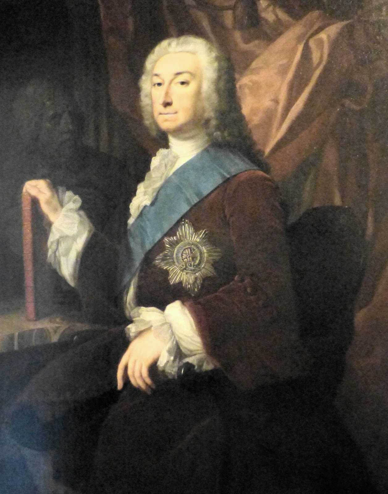 Lord Burlington in West Sketch Gallery, Chatsworth
