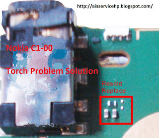 Nokia C1-00 Torch Light Problem Solution,C1-00 Torch Not Working