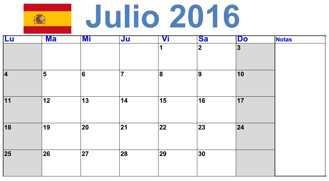 "Weekly Calendar In Spanish : Search results for ""blank printable monthly calendar free"