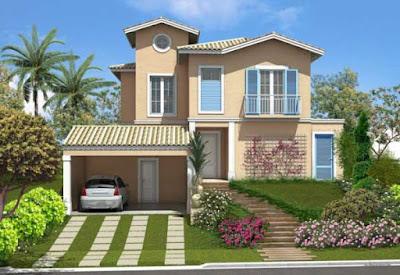 como diseñar una casa (fachada)