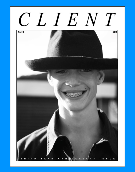 Charlie James for Client Magazine No.10